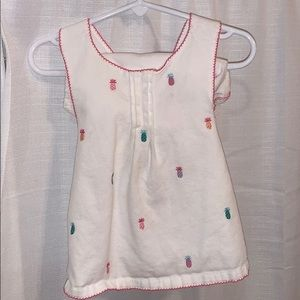 Janie and jack two piece set in good condition